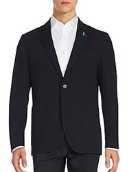 Tailorbyrd Hogarth Long Sleeve Jacket Black