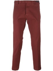 Pt01 Slim Fit Chinos Red
