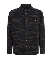 Rails Camouflage Military Shirt Multi