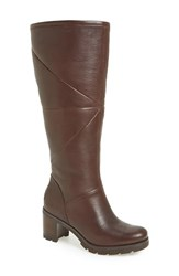 Uggr Women's Ugg 'Avery' Water Resistant Genuine Shearling Lined Leather Boot Stout Leather