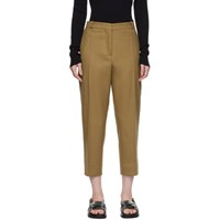 Marni Tan Cropped Trousers