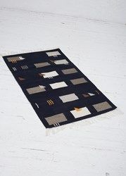 Minna Symmetrical Mess 3' X 5' Rug Dark