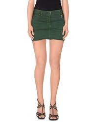 Blumarine Skirts Mini Skirts Women Emerald Green