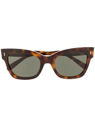Mulberry Kate Square Sunglasses Brown