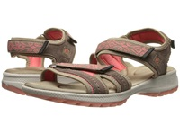 Rockport Rocsports Lite Sport Web Quarter Strap Sandal New Taupe Suede Women's Shoes