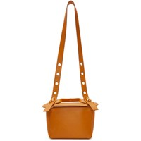 Sophie Hulme Tan Small 'The Bolt' Bag