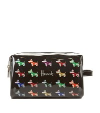 Harrods Union Jack Westie Wash Bag Unisex