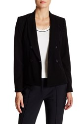 Abs By Allen Schwartz Notch Collar Blazer Black