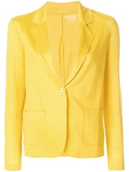 Majestic Filatures Relaxed Blazer Yellow And Orange