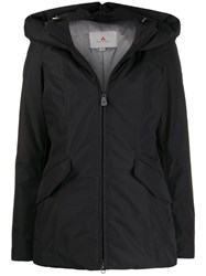 Peuterey Short Puffer Jacket Black