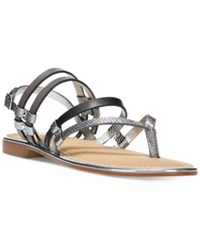 Carlos By Carlos Santana Diego Flat Sandals Women's Shoes Graphite