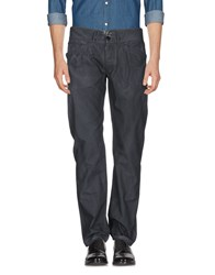 High Casual Pants Steel Grey
