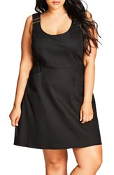 City Chic Plus Size Women's Cute Overall Dress