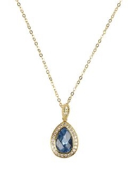 Cz By Kenneth Jay Lane Necklaces Gold