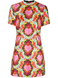 House Of Holland Heart Twill Flared Dress