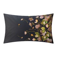 Ted Baker Arboretum Pillowcase Charcoal Set Of 2