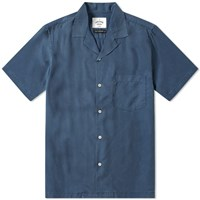Portuguese Flannel Dogtown Vacation Shirt Blue