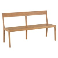Habitat Aiden Teak Garden Bench Brown