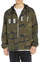 Obey Anyway Coach's Jacket Camo