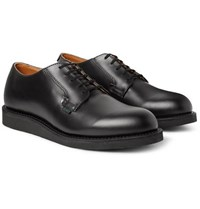 Red Wing Shoes Postman Leather Derby Black