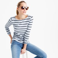 J.Crew Long Sleeve Striped Painter T Shirt