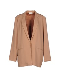 American Vintage Suits And Jackets Blazers Women Skin Color
