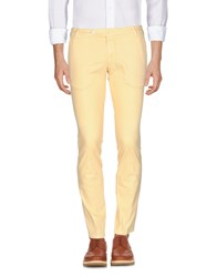 Michael Coal Casual Pants Ocher