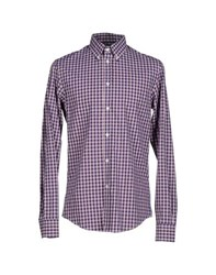 Gianfranco Ferre Gf Ferre' Shirts Shirts Men Dark Blue
