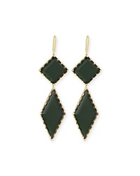 Lana 14K Gold Midnight Drop Earrings Yellow Gold
