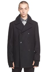 Rag And Bone Men's Rag And Bone 'Reefing' Wool Blend Peacoat