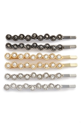 Tasha 'Sparkle' Bobby Pins 6 Pack Gold