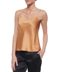 The Row Classica Charmeuse Relaxed Camisole Salmon