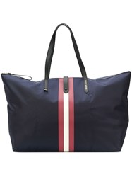 Bally The Tote Bag Blue