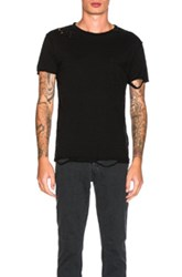 Nsf Paulie Tee In Black