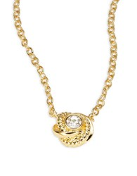 Kate Spade Infinity And Beyond Goldtone Mini Pendant Necklace
