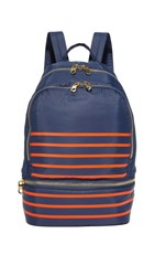 Cynthia Rowley Brody Backpack Navy Stripe