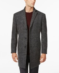 Calvin Klein X Marble Charcoal Melange Extra Slim Fit Overcoat