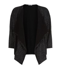 Wolford Lurex Knit Waterfall Cardigan Female Multi