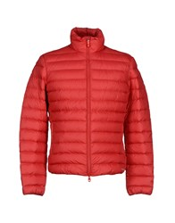 Geox Coats And Jackets Down Jackets Men Red