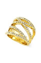 Women's Vince Camuto Negative Space Pave Ring