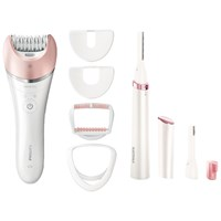 Philips Brp535 00 Satinelle Advanced Wet And Dry Epilator Pink White