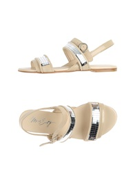 Miss Sixty Sandals Beige