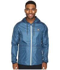 Hurley Blocked Runner 2.0 Jacket Squadron Blue Men's Coat