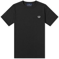 Fred Perry X Made Thought 544 Reverse Print Tee Black