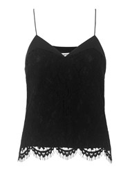 Whistles Lace Cami Black