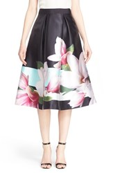 Women's Ted Baker London 'Carolee' Pleated Midi Skirt
