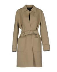 Ralph Lauren Black Label Coats Beige
