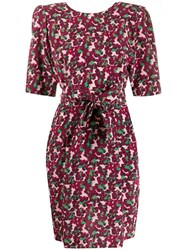 Stella Mccartney Floral Print Tie Waist Dress 60