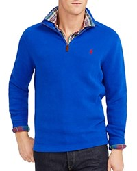 Polo Ralph Lauren French Rib Half Zip Pullover Cruise Royal