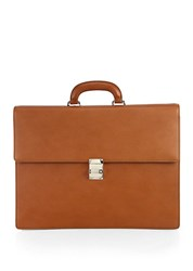 Montblanc Leather Briefcase Tan